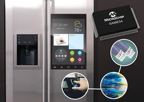 Microchip推兩款多接口SAM單片機系列新品