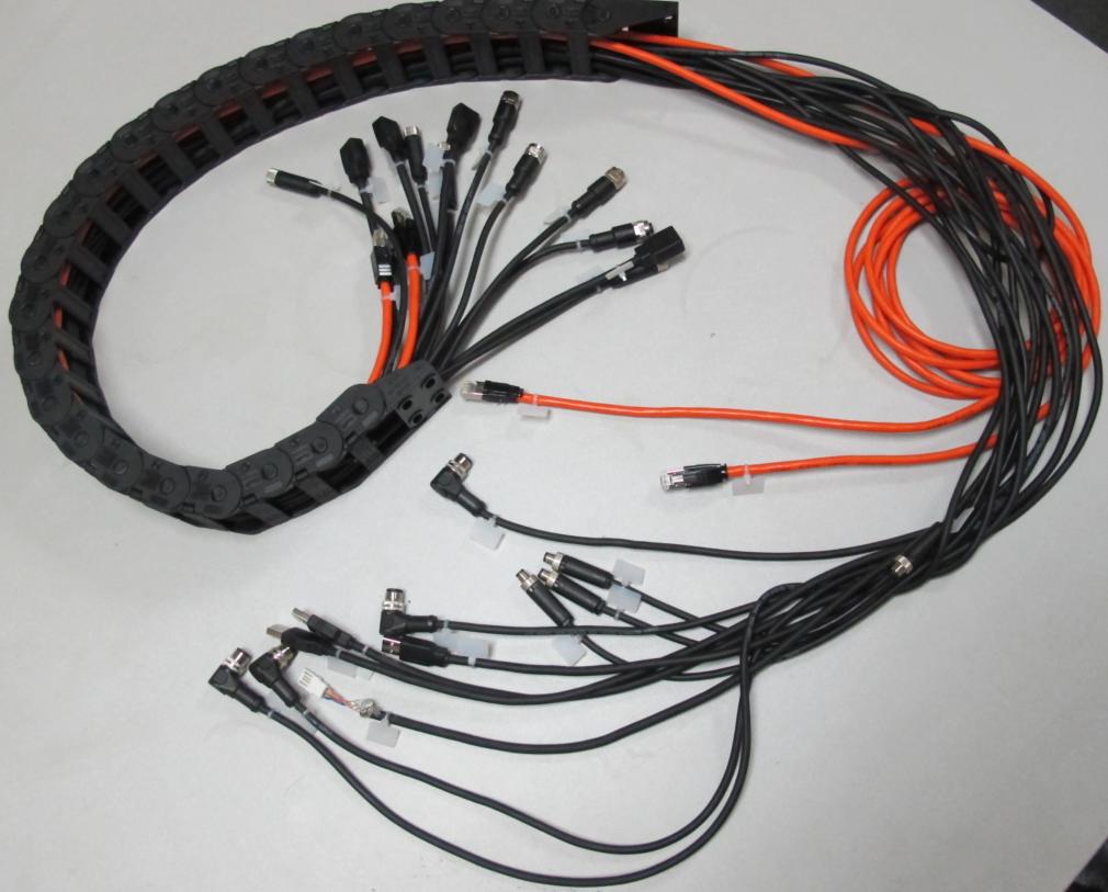 非标电缆线束拖链