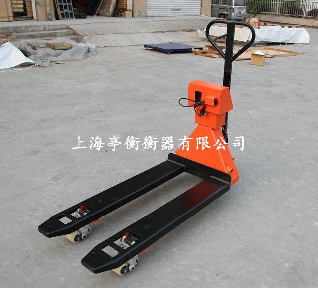 汉川搬运秤工厂,3吨手推搬运车秤