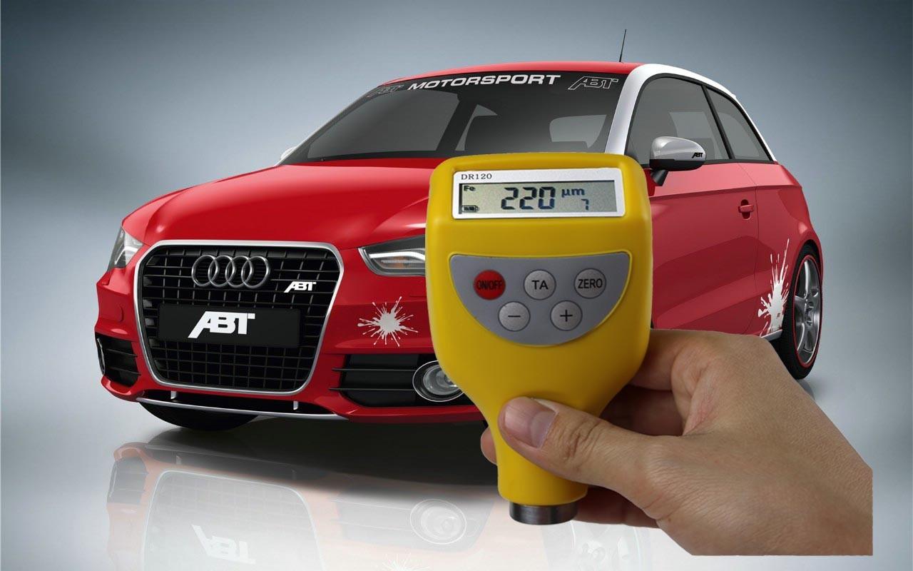 供应汽车油漆面膜检测仪报价-dr120