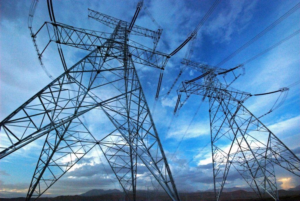 云南电力系统接线图