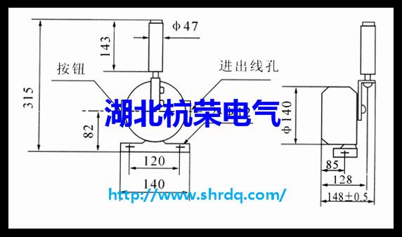 (6)双向运行皮带运输机跑偏的调整