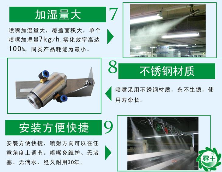 雾化效率高压100%,是同类产品耗能为zui小