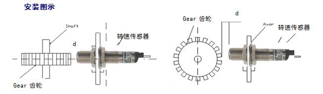 tce12l磁阻式转速传感器