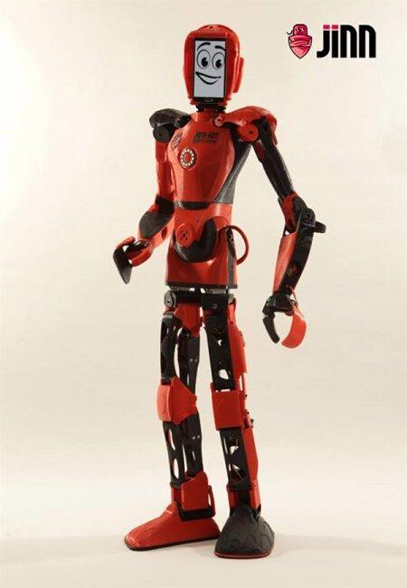 用3d打印技术还打印能学习能跑步能说话的人形机器人,可以打印生活中