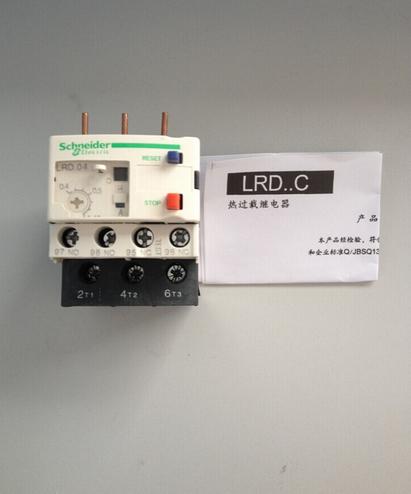 施耐德热过载继电器lrd04工作原理