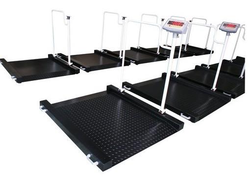 现回访鼓楼医院又订了一台轮椅秤S603