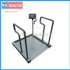 DCS-HT-LY医用透析轮椅电子秤 300kg医用轮椅秤自带斜坡